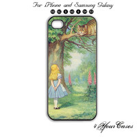 Alice in Wonderland.Phone 5 ,5Scase,iPhone 5C,Samsung Galaxy S3, Samsung Galaxy S4 Phone case,iPhone 4 Case, iPhone 4S Case