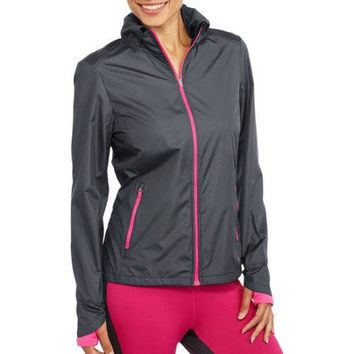 Danskin Now Women's Active Wind Jacket - Walmart.com