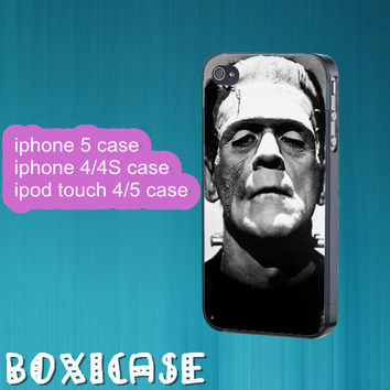 Frankenstein---iphone 4 case,iphone 5 case,ipod touch 4 case,ipod touch 5 case,in plastic,silicone and black,white.