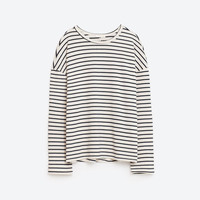 STRIPED LONG SLEEVE TOP DETAILS