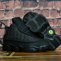 Nike Kids Air Jordan 13 Retro Black Sneaker Shoe Us 11c 3y | Best Deal Online