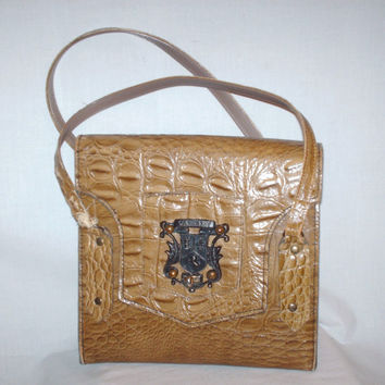 Vintage Crocodile Skin Purse