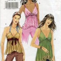 Vogue Pattern 8155 Camisole Style Top out of print