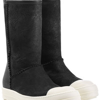 Rick Owens - Shearling Lined Ankle Boots