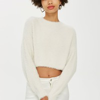Fluffy Super Cropped Jumper - New In Fashion - New In