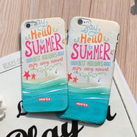 Vintage Hello Summer Iphone 6 S Plus Case Cover