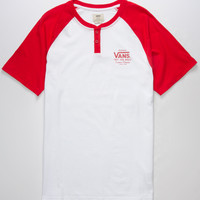 VANS Holder Street Mens Henley | Graphic Tees