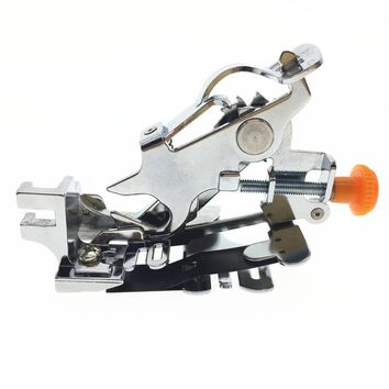 Domestic Presser Foot Ruffler Sewing Machine Presser Foot Ruffler Foot Presser Feet Low Shank For Brother Singer Janome White