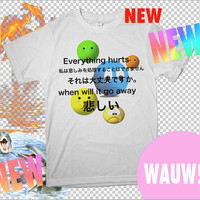 SAD GIRL SHIRT sad boy shirt sad shirt seapunk emotional kawaii super depressed crazy Tshirt