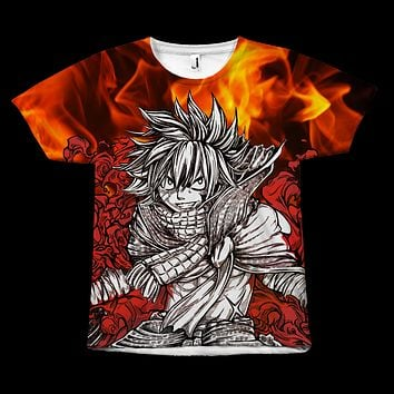 Fairy Tail - Natsu -  All Over Print T Shirt - TL00911AO