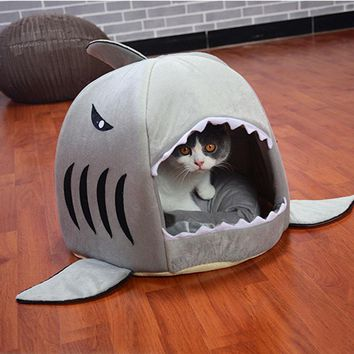 Cute Pet Shark Sleeping Bag