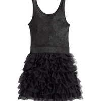 Frilled dress - from H&M