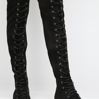 Take 'Em Down Lace-Up Boots
