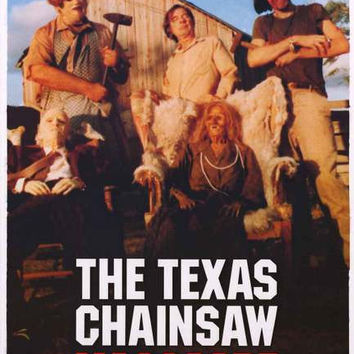 Texas Chainsaw Massacre The Sawyers Movie Poster 24x36