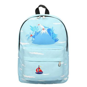 Tropical Island Backpack