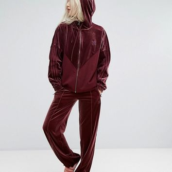 adidas Originals Velvet Vibes Wide Leg Trousers at asos.com