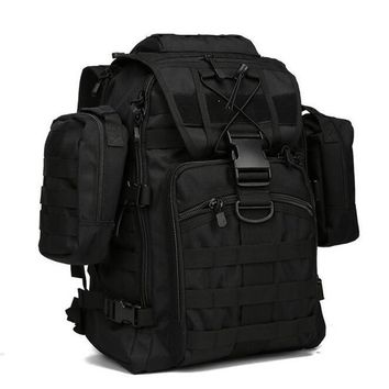 36-55L Military Assault Pack Backpack Army Molle Waterproof Bug Out Bag Small Rucksack for
