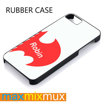Robin Love iPhone 4/4S, 5/5S, 5C, 6/6 Plus Series Rubber Case