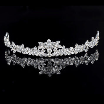 HOT Elegant Sparkly Crystal Rhinestone Crown Tiara Wedding Prom Bride's Headband wedding headband