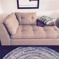 H.D. Buttercup One-Arm Sofa Chaise - Like New