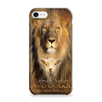 Lion Quote Bible Verse iPhone 6 | iPhone 6S Case