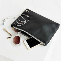 Vegan Leather Medium Pouch - Urban Outfitters