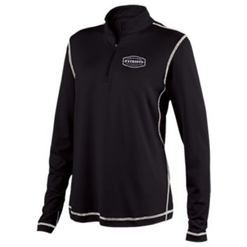 The Ultimate Fan Of The New England Patriots Ladies Performance 1/4 Zip
