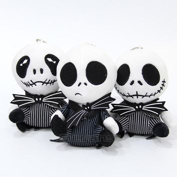 The Nightmare Before Christmas Jack Skellington Plush Toy Soft Stuffed Doll 6inch 13cm 3 Styles
