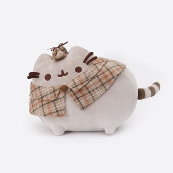 Detective Pusheen plush toy