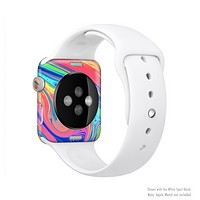 The Neon Color Fusion V9 Full Body Skin Set for the Apple Watch