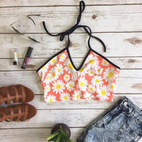 Daisy Daze Halter Top