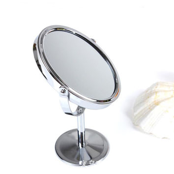 Best vanity stand mirror products on wanelo for Miroir double face