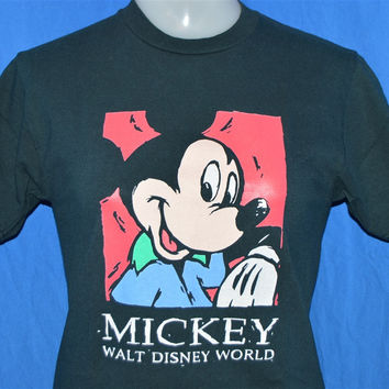 90s Mickey Walt Disney World t-shirt Youth Medium