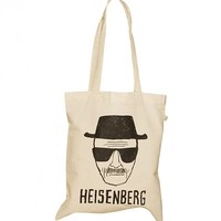 Heisenberg Sketch Breaking Bad Canvas Bag : TruffleShuffle.com