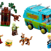 BELA Scooby-Doo The Mystery Machine Building Block Model Kits Scooby Doo Marvel Minifigures Toys Compatible Legoe