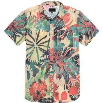 Vandal Toucan Short Sleeve Woven Shirt - Mens Shirt - Multi -