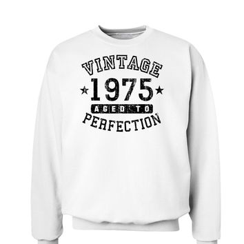 1975 - Vintage Birth Year Sweatshirt Brand