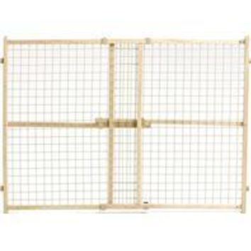 Midwest Homes For Pets - Wood/wire Mesh Pet Gate