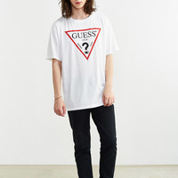 GUESS Oversized Logo Tee   Urban Outfitters