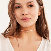 Luv Aj Leather Wrap Charm Choker Necklace - Urban Outfitters