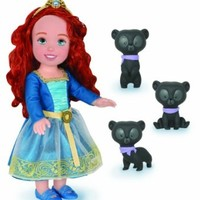 Disney Princess Brave - Merida with Bear Brothers