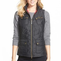 Women's Barbour 'Worldcrosser' Quilted Vest,