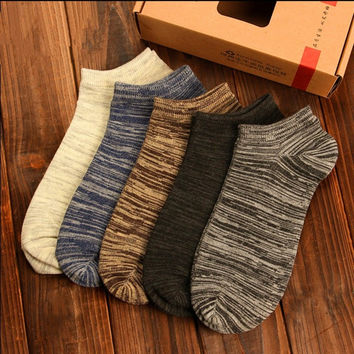 Casual Boat Low-Cut Socks(1-Pair)