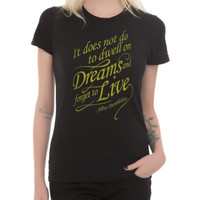 Harry Potter Dreams Quote Girls T-Shirt