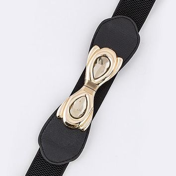 Double Crystal Stretch Belt