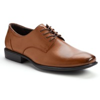 Van Heusen Burt Men's Oxford Dress Shoes (Brown)