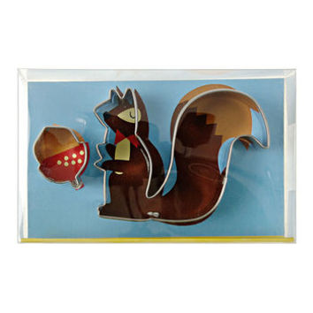 Squirrel And Nut Cookie Cutters