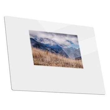 Pikes Peak CO Mountains Metal Panel Wall Art Landscape - Choose Size by TooLoud