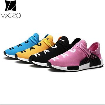 VIXLEO Tenis Designer Men Shoes Casual Mesh Luxury Breathable Human Race Trainers Slip on Krasovki size 35-46