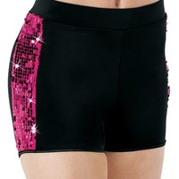 Sequin-Stripe Tap Short | Balera™